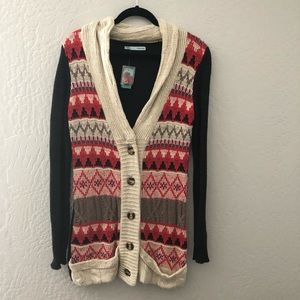 Maurice's Patterned Cardigan Sweater